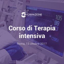 Corso di Terapia intensiva e Ventilazione meccanica 13 ottobre 2017