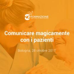 Corso di Comunicazione con il Paziente Bologna 28 ottobre 2017