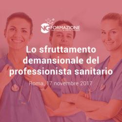 Sfruttamento demansionale del professionista sanitario 17 novembre