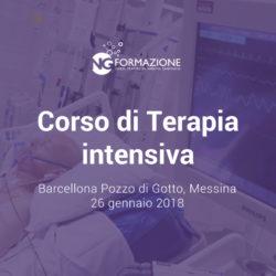 Terapia intensiva e Ventilazione meccanica Sicilia 26 gennaio 2018