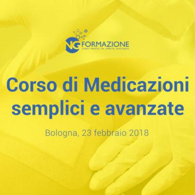 Corso di Medicazioni Semplici e Avanzate Bologna 23 febbraio 2018