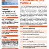 Corso Gestione del Paziente Tracheostomizzato Ventilato Firenze 10 agosto 2019