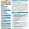 Corso Medicazioni Semplici e Avanzate Roma 2 agosto 2019