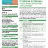 Corso Accessi Venosi Prelievi Arteriosi Bari 5 marzo 2020