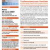 Corso Gestione del Paziente Tracheostomizzato Ventilato Roma 28 marzo 2020