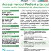 webinar Accessi Venosi Prelievi Arteriosi 9 maggio 2020