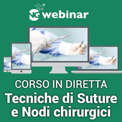 webinar Tecniche di Suture e Nodi Chirurgici