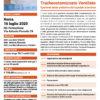 Corso Gestione del Paziente Tracheostomizzato Ventilato Roma 16 luglio 2020