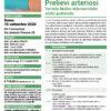 Corso Accessi Venosi Prelievi Arteriosi Roma 10 settembre 2020