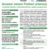 webinar Accessi Venosi Prelievi Arteriosi 2 settembre 2020