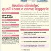 webinar Analisi Cliniche: quali sono e come leggerle 22 aprile 2021
