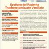 webinar Gestione del Paziente Tracheostomizzato Ventilato 27 aprile 2021