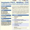 webinar Impianto PICC, Midline, CVC 15 aprile 2021