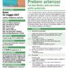 Corso Accessi Venosi Prelievi Arteriosi Roma 22 maggio 2021