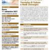 Medicazioni Semplici e Avanzate - Tecniche di Suture Roma 11 settembre 2021